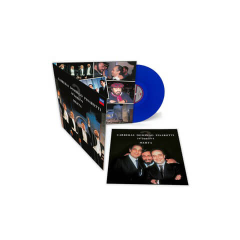 The Original Three Tenors (Limited Blue Vinyl Edition) von Pavarotti, Luciano; Domingo, Plácido; Carreras; José, Mehta, Zubin - LP jetzt im Deutsche Grammophon Shop