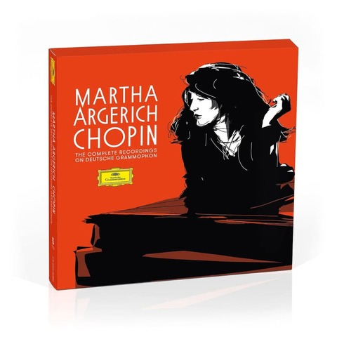 The Complete Chopin Recordings on DG (5CDs) by Martha Argerich - Box - shop now at Deutsche Grammophon store