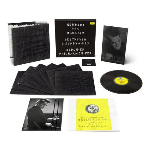 √Beethoven 9 Symphonies (Superdeluxe Vinyl Art Edition) von Herbert von Karajan & Gregor Hildebrandt - LP jetzt im Deutsche Grammophon Shop