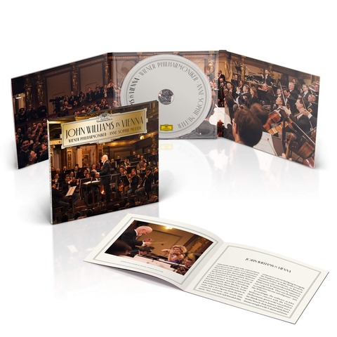 John Williams in Vienna von John Williams/Wiener Philharmoniker/Anne-Sophie Mutter - CD jetzt im Deutsche Grammophon Shop