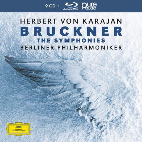 √Bruckner: Die Sinfonien (9CD+1 BluRay Audio) von Herbert von Karajan & Die Berliner Philharmoniker - Box set jetzt im Deutsche Grammophon Shop