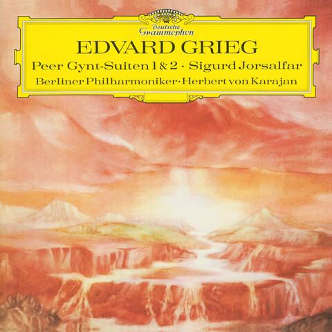 √Grieg: Peer Gynt Suiten 1 & 2 (Sigurd Jorsalfar) von Herbert von Karajan & Die Berliner Philharmoniker - LP jetzt im Deutsche Grammophon Shop