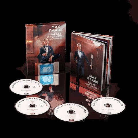 MTV Unplugged (Ltd. Deluxe Edition inkl. 2CD, DVD, BluRay) von Max Raabe & Palast Orchester - CD jetzt im Deutsche Grammophon Shop