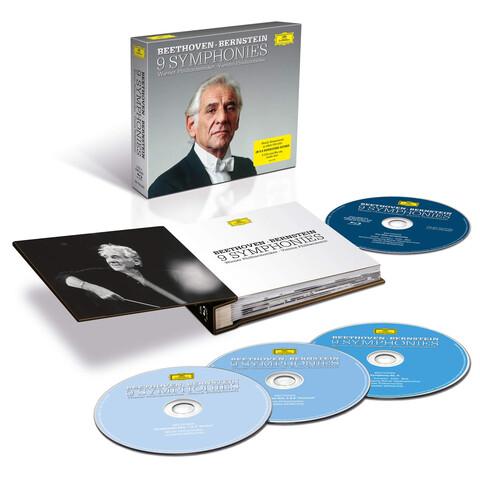 √Beethoven: Die Sinfonien (5CDs + 1 BluRay Audio) von Leonard Bernstein & Wiener Philharmoniker - CD Box jetzt im Deutsche Grammophon Shop