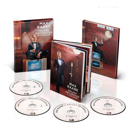 MTV Unplugged (Ltd. Bundle: Deluxe Version + Notizbuch) von Max Raabe & Palast Orchester - Musik Bundle jetzt im Deutsche Grammophon Shop
