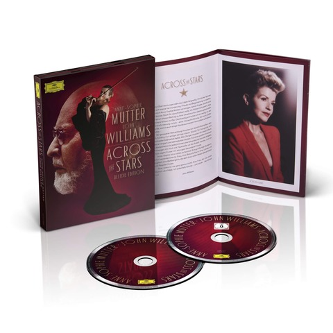 √Across The Stars (Ltd Deluxe Edition) von Anne-Sophie Mutter & John Williams - CD jetzt im Deutsche Grammophon Shop
