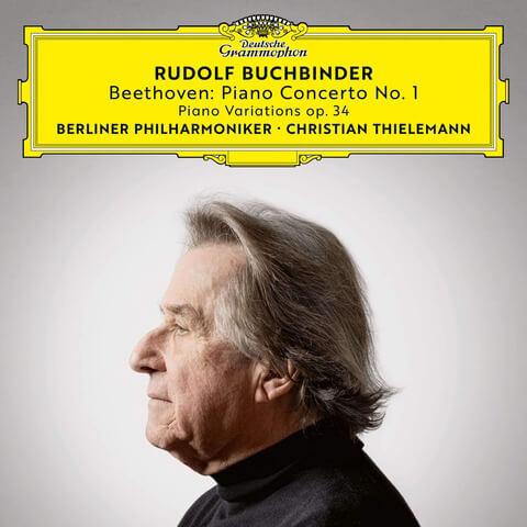 √Beethoven: Piano Concerto No. 1, Op. 15 6 Piano Variations in F Major, Op. 34 von Rudolf Buchbinder - CD jetzt im Deutsche Grammophon Shop