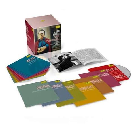 The Complete Deutsche Grammophon Recordings (Ltd. 58 CD Box) von Claudio Abbado & Wiener Philharmoniker - Boxset jetzt im Deutsche Grammophon Shop