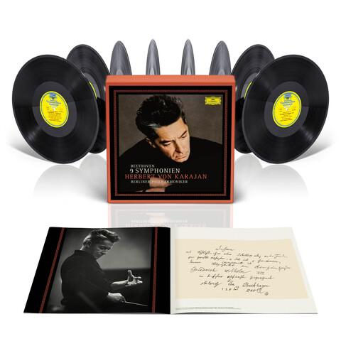 √Beethoven: Die Symphonien (LP Set) von Herbert von Karajan & Die Berliner Philharmoniker - LP Box jetzt im Deutsche Grammophon Shop