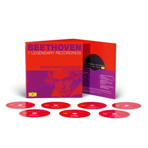 √Beethoven: 7 Legendary Recordings (Ltd. Edition) von Karajan, Kleiber, Kempff, Mutter - CD jetzt im Deutsche Grammophon Shop