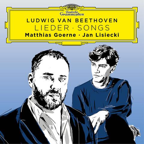 √Beethoven Songs von Matthias Goerne & Jan Lisiecki - CD jetzt im Deutsche Grammophon Shop