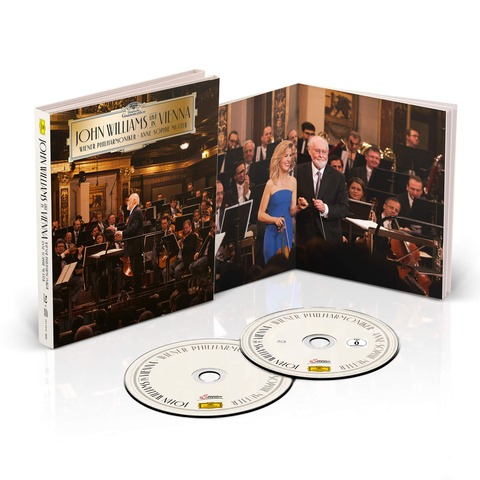 John Williams - Live in Vienna (Ltd. Deluxe Edition CD + BluRay) von John Williams/Wiener Philharmoniker/Anne-Sophie Mutter - CD jetzt im Deutsche Grammophon Shop