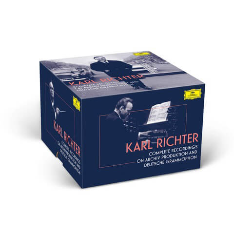 √Complete Recordings On Archiv & DG (97 CDs & 3 BluRay Audio) - Ltd. Edition von Karl Richter - Box set jetzt im Deutsche Grammophon Shop