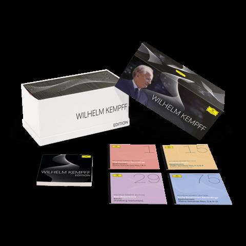 √Wilhelm Kempff Edition (Ltd. 80 CD Box) von Wilhelm Kempff -  jetzt im Deutsche Grammophon Shop