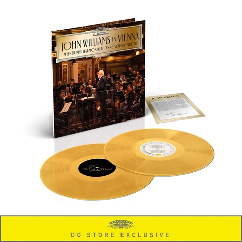 √John Williams in Vienna (Ltd. Golden 2LP) von John Williams/Wiener Philharmoniker/Anne-Sophie Mutter - LP jetzt im Deutsche Grammophon Shop