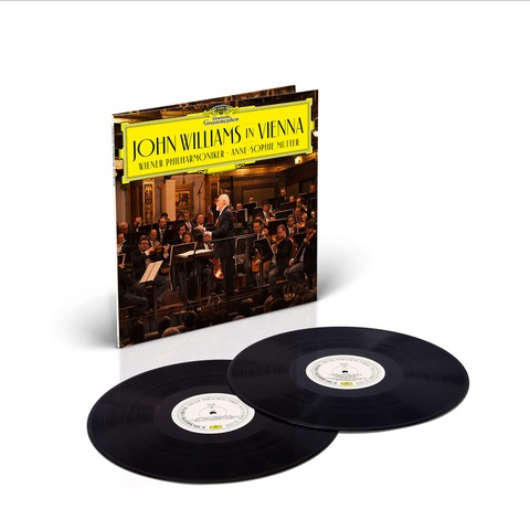 √John Williams In Vienna von John Williams/Wiener Philharmoniker/Anne-Sophie Mutter - 2LP jetzt im Deutsche Grammophon Shop