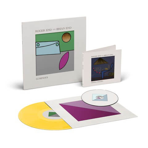 √Mixing Colours CD + Luminous Yellow Vinyl von Roger Eno & Brian Eno -  jetzt im Deutsche Grammophon Shop