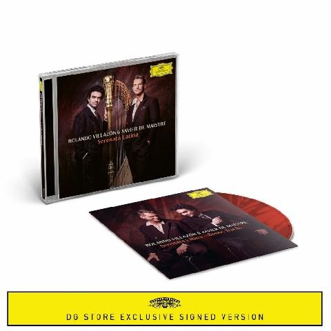 √Serenata Latina (CD + signed Booklet + Bonus CD) von Rolando Villazón & Xavier de Maistre - CD Bundle jetzt im Deutsche Grammophon Shop