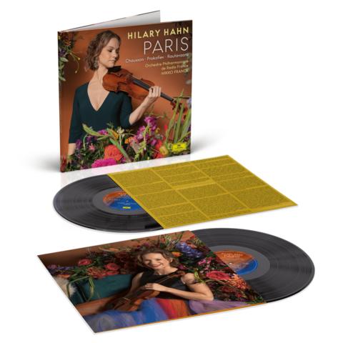 √PARIS (2LP Gatefold) von Hilary Hahn - 2LP jetzt im Deutsche Grammophon Shop