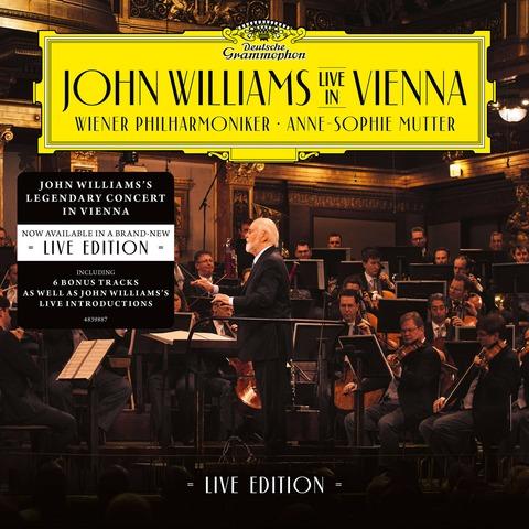 John Williams In Vienna - Live Edition (2CD) by John Williams/Wiener Philharmoniker/Anne-Sophie Mutter - 2CD - shop now at Deutsche Grammophon store