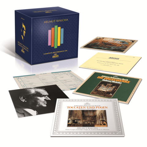 Complete Recordings On Archiv Produktion by Helmut Walcha - Box set - shop now at Deutsche Grammophon store