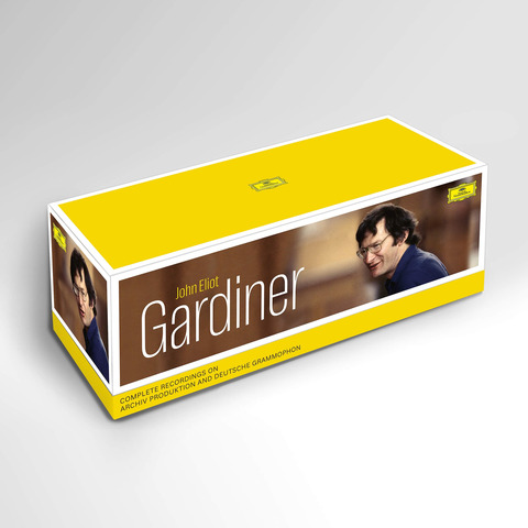 √J.E. Gardiner: Sämtliche Aufnahme Für Archiv & DG (104 CD Box) von John Eliot Gardiner - Box set jetzt im Deutsche Grammophon Shop