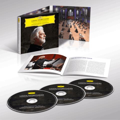 Beethoven: Complete Piano Concertos (3CD Digipack) von Krystian Zimerman - 3CD Digipack jetzt im Deutsche Grammophon Shop