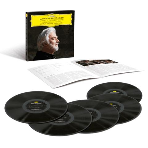 Beethoven: Complete Piano Concertos (5LP Box) von Krystian Zimerman - 5LP Boxset jetzt im Deutsche Grammophon Shop