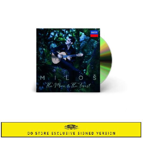 √The Moon & The Forrest (+Signed Booklet) von Miloš Karadaglić - CD-Bundle jetzt im Deutsche Grammophon Shop