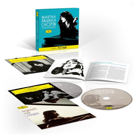Sämtliche Chopin-Aufnahmen für die Deutsche Grammophon (5CD + Blu-Ray Audio) von Martha Argerich - 5CD + Blu-Ray Audio Set jetzt im Deutsche Grammophon Shop