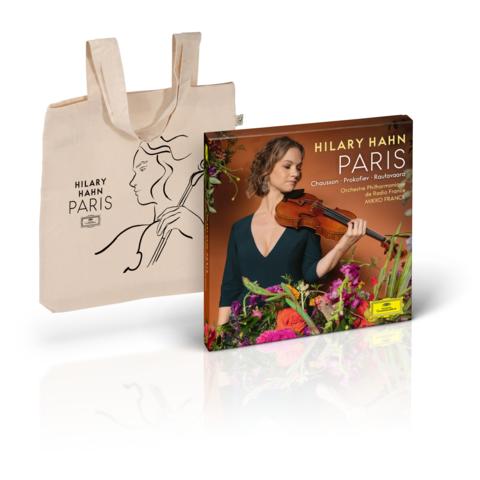 √PARIS (Excl. Bundle - Boxset+Tote Bag) von Hilary Hahn -  jetzt im Deutsche Grammophon Shop