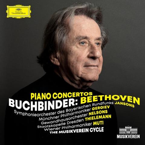√Beethoven Piano Concertos - The Musikverein Cycle von Rudolf Buchbinder - 3CD jetzt im Deutsche Grammophon Shop