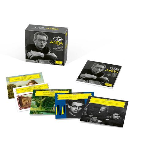 Geza Anda: Complete DG Recordings (Ltd. Edit.) by Géza Anda - Box set - shop now at Deutsche Grammophon store