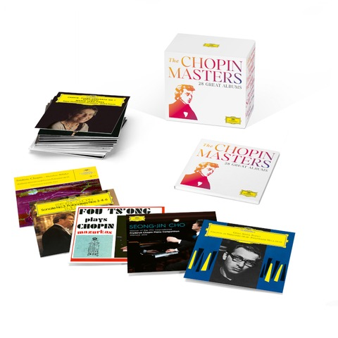 The Chopin Masters (Limited Edition) by Frederic Chopin - Box set - shop now at Deutsche Grammophon store