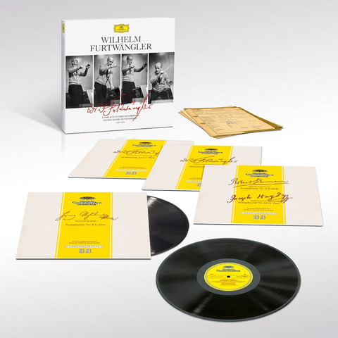 Complete Studio Recordings On DG 1951-1953 by Wilhelm Furtwängler - 4LP Boxset - shop now at Deutsche Grammophon store