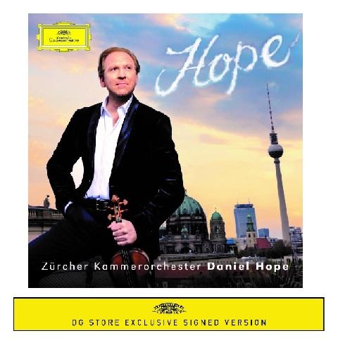 Hope (Exclusive Signed CD) by Daniel Hope - CD-Bundle - shop now at Deutsche Grammophon store