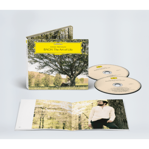 Bach: The Art Of Life by Daniil Trifonov - Exclusive 2CD + Signed Booklet - shop now at Deutsche Grammophon store