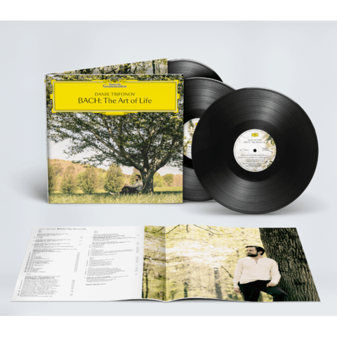 Bach: The Art Of Life by Daniil Trifonov - Exclusive 3LP + Signed CD Booklet - shop now at Deutsche Grammophon store