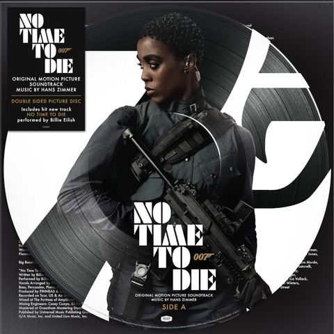 Bond 007: No Time To Die (Exclusive Limited Edition Nomi Picture Disc) by Hans Zimmer -  - shop now at Deutsche Grammophon store