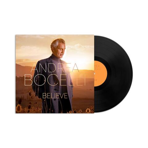 √Believe von Andrea Bocelli - LP jetzt im Deutsche Grammophon Shop