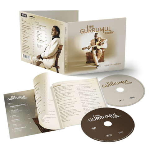 The Gurrumul Story (Limited Edition CD+DVD) by Gurrumul - CD+DVD - shop now at Deutsche Grammophon store