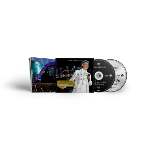 Concerto - One Night In Central Park - 10th Anniversary (Exclusive Fanedition CD+DVD+Poster) by Andrea Bocelli -  - shop now at Deutsche Grammophon store