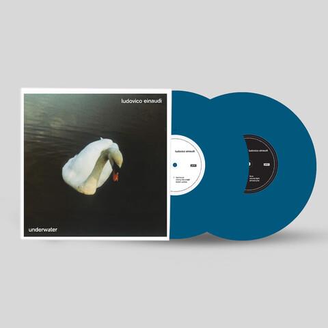 Underwater by Ludovico Einaudi - Exclusive Blue Vinyl 2LP - shop now at Deutsche Grammophon store
