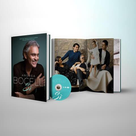 √Si (Excl. Bocelli Table Book) von Andrea Bocelli - Book jetzt im Deutsche Grammophon Shop