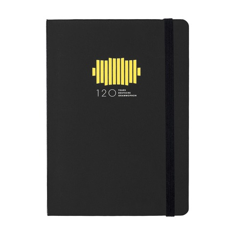 √120 Jahre Jubiläum von Deutsche Grammophon - Note book jetzt im Deutsche Grammophon Shop